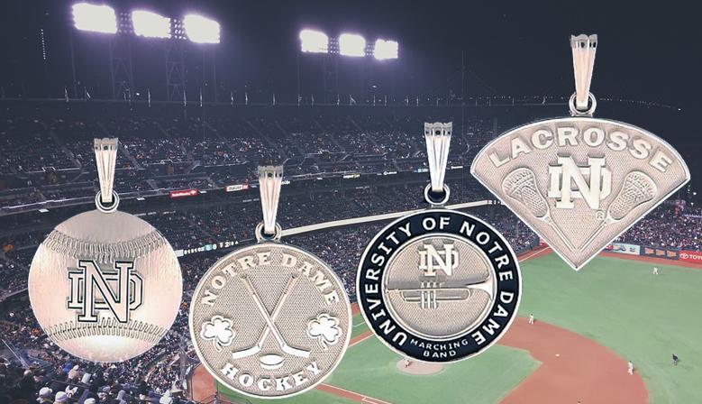 Notre Dame® Fine Jewelry Sports Pendants