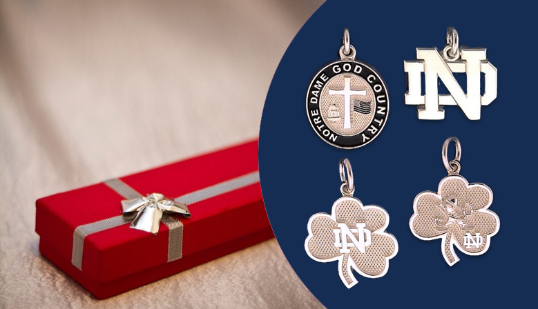 Notre Dame® Fine Jewelry are crafted with your choice of Gold or Sterling Silver.