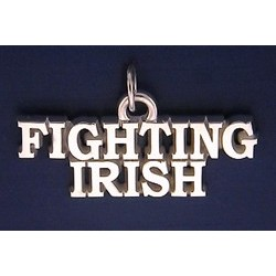 Fighting Irish Charm