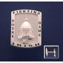 Golden Dome Cuff Links