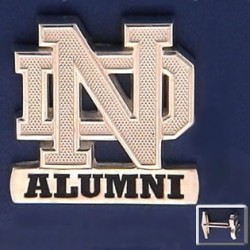 ND Logo Alumni Cuff Links
