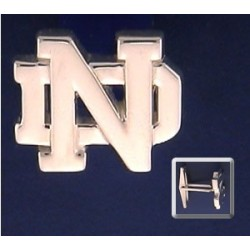 ND Logo Cuff Links