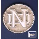 ND Logo with Beaded Bezel Lapel Pin