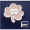 Shamrock Lapel Pin with ND Logo