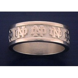 Men's Band with ND Logo