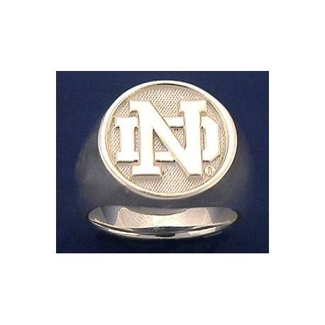 Ladies' ND Logo Ring
