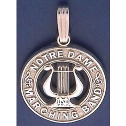Notre Dame Marching Band Pendant