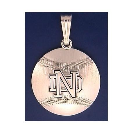 Baseball Pendant with ND Logo