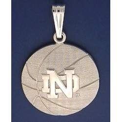 Basketball Pendant with ND Logo