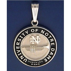 ND Marching Band with Instrument Pendant