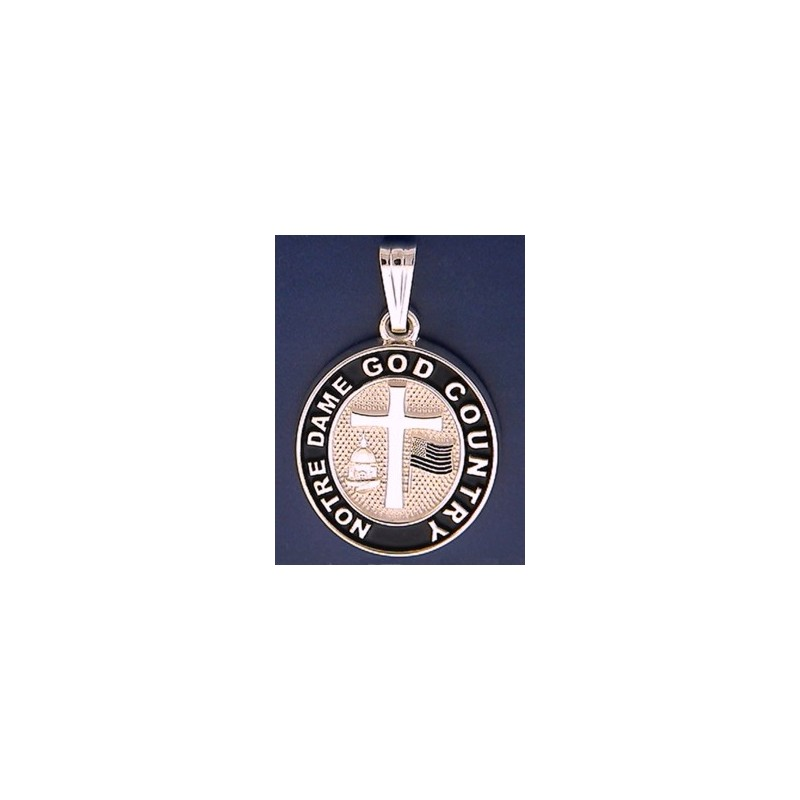 God country notre dame pendant aloadofball Choice Image