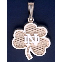 New Shamrock Pendant with ND Logo