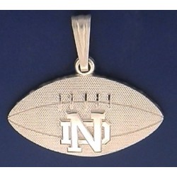 Football Pendant with ND Logo