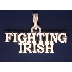Fighting Irish Pendant