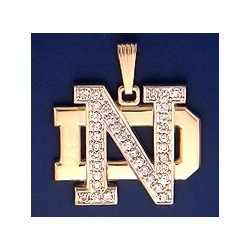 ND Logo with Diamonds