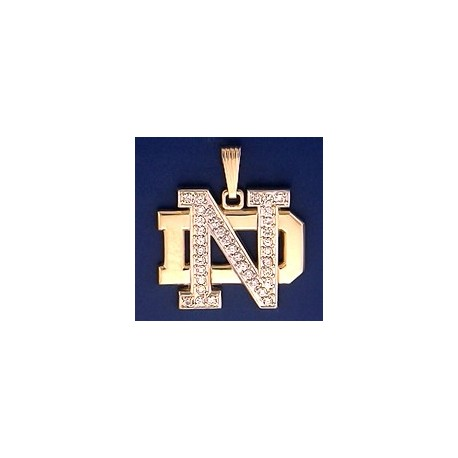 ND Logo with Diamonds