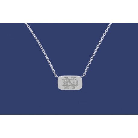 Reversible Tag Necklace with ND Logo & Leprechaun