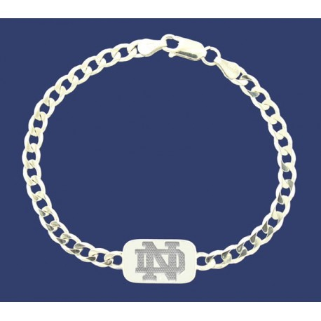 Reversible Tag Bracelet with ND Logo & Leprechaun