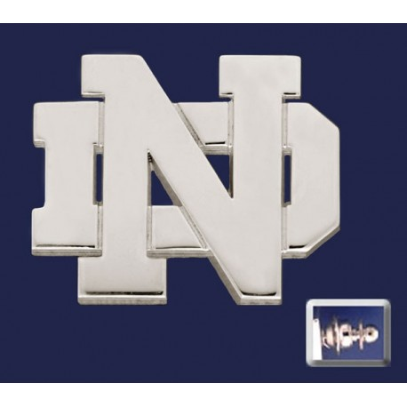 ND Logo Lapel Pin