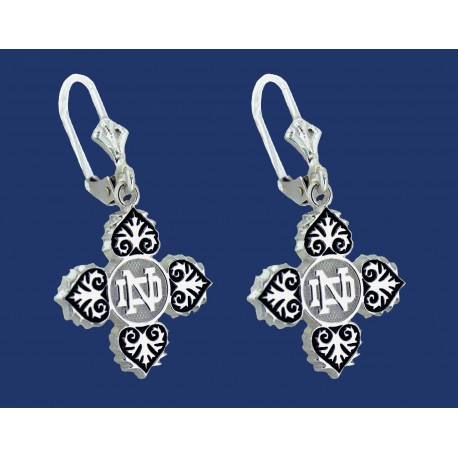 ND with Intricate Pattern Earrings
