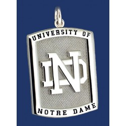 Two-Sided Charm with ND logo & Golden Dome