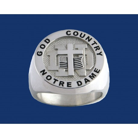 God, Country, Notre Dame Ring