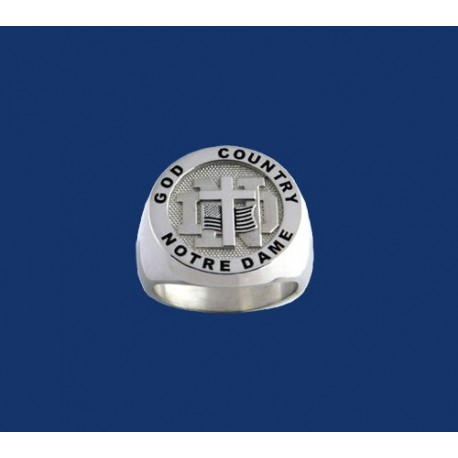 Ladies' God, Country, Notre Dame® Ring