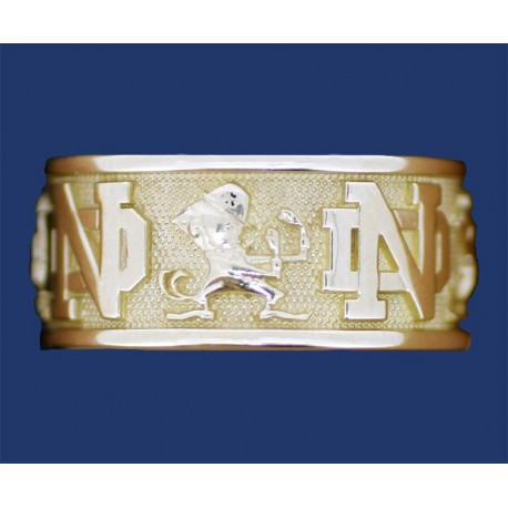Ladies' Band with ND Logo & Leprechaun