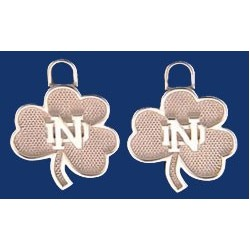 Shamrock with ND Earring CHarm