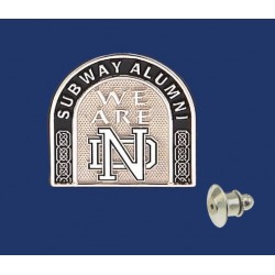 Subway Alumni Lapel Pin
