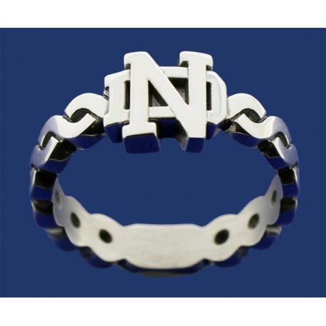 Ladies Braided Band with ND Logo
