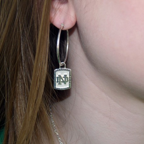 ND Fighting Irish Earring Charms