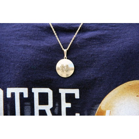 Baseball Pendant with ND Logo