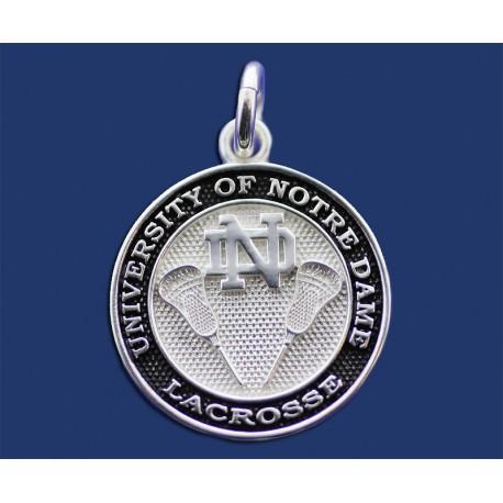 New ND Lacrosse Charm