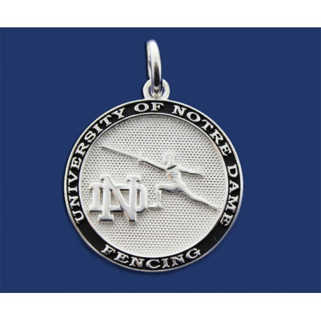ND Fencing Charm