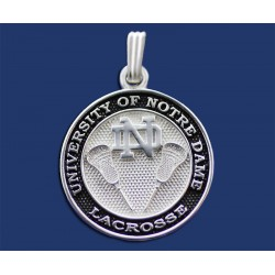 New ND Lacrosse Pendant