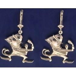 Leprechaun Earrings (Double Sided)