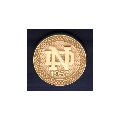 ND Logo with Celtic Border Blazer Button