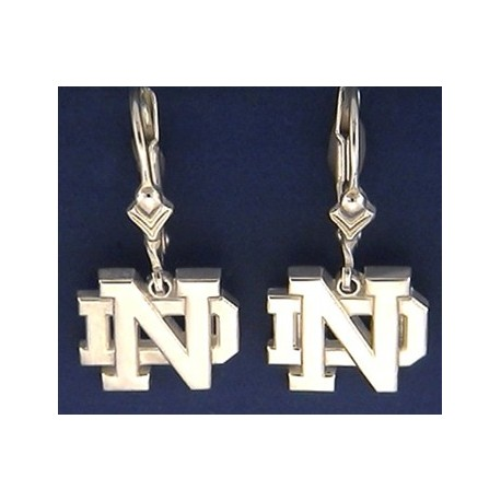 ND Logo Earrings
