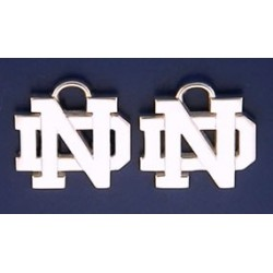 ND Logo Earring Charms