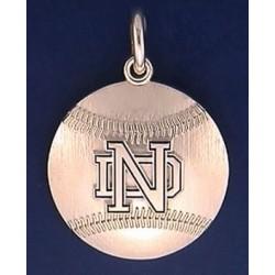 ND Baseball Charm