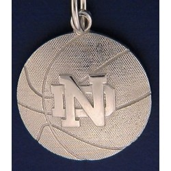 ND Basketball Charm
