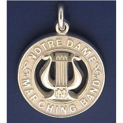 Notre Dame Marching Band Charm