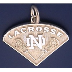 ND Lacrosse Charm