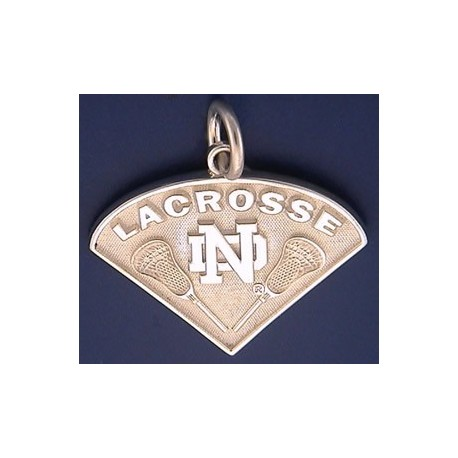 ND Lacrosse Charm