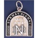 Subway Alumni Charm