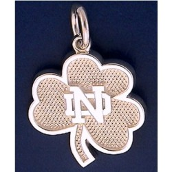 New Shamrock Charm with ND Logo