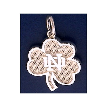 Shamrock Charm with ND Logo