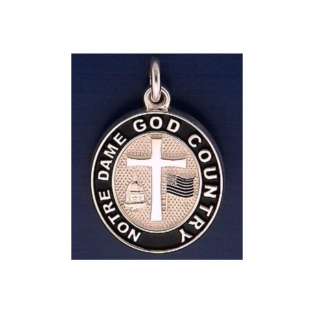 God country notre dame charm god country notre dame charm aloadofball Choice Image