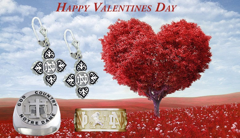 Notre Dame® Fine Jewelry perfect gift for Valentines Day!
